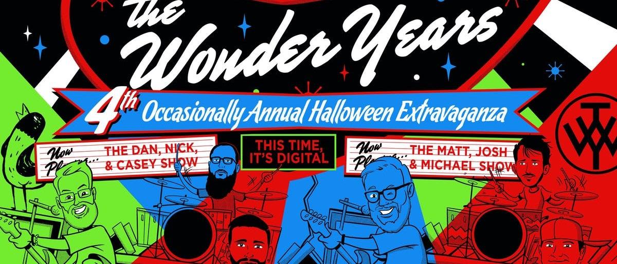 The Wonder Years проведут стрим с каверами песен blink-182