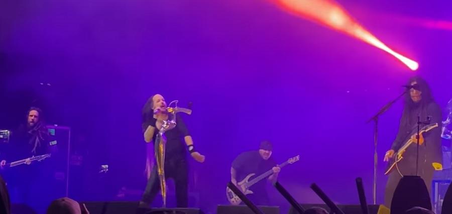 Korn сыграли первый концерт с Ра Диазом