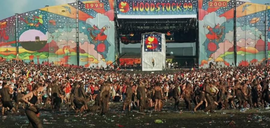 Появился трейлер документального фильма о фестивале «Woodstock 99»